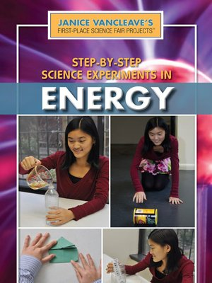 cover image of Step-by-Step Science Experiments in Energy